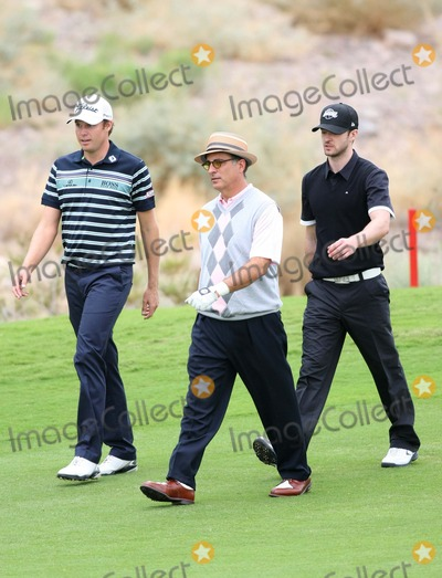 Nick Watney Photo - Justin Timberlake Andy Garcia Nick Watney Singer and Actor and Golfer Justin Timberlake Shriners Hospitals For Children Open Pro Am Las Vegas Nevada 10-20-2010 Photo by Graham Whitby Boot-allstar-Globe Photos Inc 2010