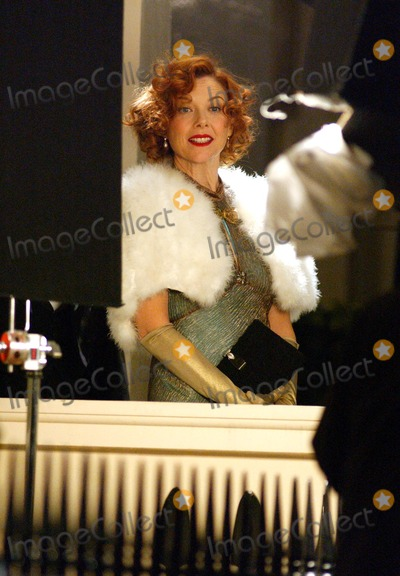 Photos From Filming 'Being Julie' -Eton Terrace, London.