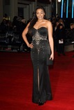 Amal Fashanu Photo - LONDON ENGLAND - JANUARY 20 Amal Fashanu attends the UK Premiere of Jack Ryan Shadow Recruit at Vue Leicester Square on January 20 2014 in London EnglandCredit Capital Picturesface to face- Germany Austria Switzerland and USA rights only -
