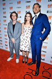 Wale Photo - 12 September 2019 - Toronto Ontario Canada - Max Winkler Charlie Hunnam Jessica Barden 2019 Toronto International Film Festival - Jungleland Photo Call held at Princess of Wales Theatre Photo Credit Brent PerniacAdMedia