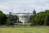 American Flag Photo - The White House is seen in Washington DC US on Saturday May 23 2020  United States President Donald J Trump ordered American flags to be flown at half-staff until May 24 2020 to honor the victims of COVID-19  Credit Stefani Reynolds  CNPAdMedia