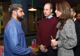 Amir Khan Photo - 15012020 - Prince William Duke of Cambridge and Kate Duchess of Cambridge Catherine Katherine Middleton meet with Amir Khan during a visit to MyLahore flagship restaurant during their visit of Bradford West Yorkshire MyLahore is a British Asian restaurant chain which has taken inspiration from Lahore the Food Capital of Pakistan Photo Credit ALPRAdMedia