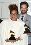Alabama Photo - 15 February 2016 - Los Angeles California - Heath Fogg Brittany Howard Steve Johnson and Zac Cockrell of Alabama Shakes winners of Best Alternative Music Album for Sound  Color and Best Rock Performance and Best Rock Song for Dont Wanna Fight 58th Annual GRAMMY Awards held at the Staples Center Photo Credit AdMedia
