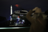 White House Photo - Marine One with United States President Donald J Trump aboard arrives on the South Lawn of the White House upon his return to Washington DC from Georgia on October 16 2020 Credit Yuri Gripas  Pool via CNP