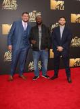 King Mo Photo - 09 April 2016 - Burbank California - Josh Thompson Muhammed King Mo Lawal Matt Mitrione 2016 MTV Movie Awards held at Warner Bros Studios Photo Credit SammiAdMedia