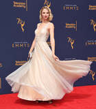 Allie Evans Photo - 09 September 2018 - Los Angeles California - Allie Evans 2018 Creative Arts Emmy Awards - Arrivals held at Microsoft Theater Photo Credit Birdie ThompsonAdMedia