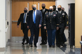 Donald Trump Photo - United States President Donald J Trump arrives at Walter Reed National Military Medical Center to visit with wounded military members and front line coronavirus healthcare workers in Bethesda Maryland on Saturday July 11 2020Credit Chris Kleponis  Pool via CNPAdMedia