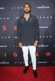 Tyler Lepley Photo - 25 October  2017 - Hollywood California - Tyler Lepley Jigsaw Los Angeles Premiere held at ArcLight Hollywood in Hollywood Photo Credit Birdie ThompsonAdMedia