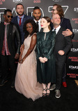 Michael Greene Photo - 20 April 2017 - Los Angeles California - Orlando Jones Pablo Schreiber Ricky Whittle Yetide Badaki Emily Browning Bryan Fuller and Michael Green American Gods Los Angeles Premiere held at The Cinerama Dome Theatre Photo Credit AdMedia