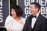 Andy Samberg Photo - 06 January 2018 - Beverly Hills California - Sandra Oh and Andy Samberg 76th Annual Golden Globe Awards held at the Beverly Hilton Photo Credit HFPAAdMedia