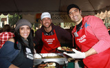 Gilles Marini Photo - 24 December 2010 - Los Angeles CA - Carole Marini Zachary Levi Gille Marini Christmas Eve For Homeless Served at Los Angeles Mission held At The Los Angeles Mission Photo Kevan BrooksAdMedia
