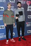 The Chainsmokers Photo - 11 March 2018 - Inglewood California - The Chainsmokers 2018 iHeart Radio Awards - Press Room held at The Forum Photo Credit Birdie ThompsonAdMedia