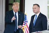 White House Photo - US President Donald J Trump (L) welcomes  Polish President Andrzej Duda (R) to the White House in Washington DC USA 24 June 2020 Duda a conservative nationalist facing a tight re-election back home is the first foreign leader to visit the White House in more than three monthsCredit Jim LoScalzo  Pool via CNPAdMedia