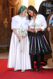 Caroline Ritter Photo - 17 December 2015 - Hollywood California - Caroline Ritter Fans Get Married With Star Wars Themed Wedding held at the TCL Chinese Theatre IMAX Photo Credit Byron PurvisAdMedia