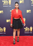 Amandala Stenberg Photo - 16 June 2018 - Santa Monica California - Amandala Stenberg 2018 MTV Movie and TV Awards held at  Barker Hangar Photo Credit Birdie ThompsonAdMedia