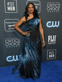 Audra Mcdonald Photo - 12 January 2020 - Santa Monica California - Audra McDonald 25th Annual Criticis Choice Awards - Arrivals held at Barker Hangar Photo Credit Birdie ThompsonAdMedia