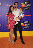 Michael Phelps Photo - 19 July 2018 - Santa Monica California - Nicole Johnson Michael Phelps and Boomer Phelps Nickelodeon Kids Choice Sports Awards 2018 held at Barker Hangar Photo Credit Faye SadouAdMedia