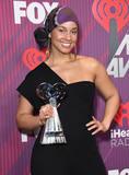 Alicia Keys Photo - 14 March 2019 - Los Angeles California - Alicia Keys 2019 iHeart Radio Music Awards - Press Room held at Microsoft Theater Photo Credit Birdie ThompsonAdMedia