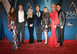 Tiffany Fallon Photo - 08 November 2017 - Nashville Tennessee - Tiffany Fallon Joe Don Rooney Gary LeVox Allison Alderson and Jay DeMarcus of Rascal Flatts 51st Annual CMA Awards Country Musics Biggest Night held at Bridgestone Arena Photo Credit Laura FarrAdMedia