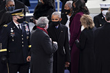 Barack Obama Photo - Former US President Barack Obama attends the 59th presidential inauguration in Washington DC US on Wednesday Jan 20 2021 Biden will propose a broad immigration overhaul on his first day as president including a shortened pathway to US citizenship for undocumented migrants - a complete reversal from Donald Trumps immigration restrictions and crackdowns but one that faces major roadblocks in Congress Photographer Kevin DietschUPIBloombergAdMedia