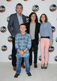 Atticus Shaffer Photo - 06 August  2017 - Beverly Hills California - Neil Flynn Atticus Shaffer Charlie McDermott Eileen Heisler   2017 ABC Summer TCA Tour  held at The Beverly Hilton Hotel in Beverly Hills Photo Credit Birdie ThompsonAdMedia
