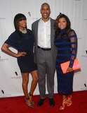 Henri Simmons Photo - 23 April 2014 - Hollywood California - Letoya Luckett Henry Simmons Taraji P Henson Arrivals for the Los Angeles premiere of From the Rough held at the Arclight Cinemas in Hollywood Ca Photo Credit Birdie ThompsonAdMedia