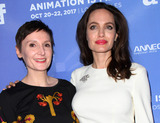 Nora Twomey Photo - 20 October 2017 - Hollywood California - Nora Twomey and Angelina Jolie The Breadwinner US Premiere held at the TCL Chinese 6 Theatre in Hollywood Photo Credit AdMedia