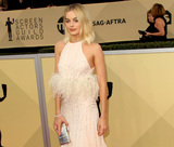 Margot Robbie Photo - 21 January 2018 - Los Angeles California - Margot Robbie 24th Annual Screen Actors Guild Awards Arrivals held at the Shrine Auditorium in Los Angeles Photo Credit AdMedia