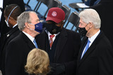 President Bill Clinton Photo - Former US President George W Bush (L) Jym Clyburn from South Carolina and Former US President Bill Clinton (R) are seen before US president-elect Joe Biden is sworn in as the 46th US President on January 20 2021 at the US Capitol in Washington DC - Biden a 78-year-old former vice president and longtime senator takes the oath of office at noon (1700 GMT) on the US Capitols western front the very spot where pro-Trump rioters clashed with police two weeks ago before storming Congress in a deadly insurrection (Photo by Saul LOEB  POOL  AFP)AdMedia