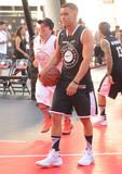 Mark Salling Photo - 07 August 2015 - Los Angeles California - Mark Salling The 7th Annual Nike Basketball 3on3 Tournament presents ESPNLA All-Star Celebrity Basketball Game held at LA Live Microsoft Square Photo Credit Birdie ThompsonAdMedia