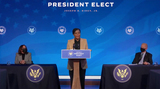 Queen Photo - Dr Alondra Nelson OSTP Deputy Director for Science and Society speaks after United States President-elect Joe Biden made remarks announcing him and other Key Members of White House Science Team from the Queen Theatre in Wilmington Delaware on Friday January 15 2021 Credit Biden Transition TV via CNPAdMedia