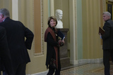 alaska Photo - United States Senator Lisa Murkowski (Republican of Alaska) makes her way to the Senate Floor at the United States Capitol in Washington DC US on Tuesday January 21 2020 as the United States Senate formally starts the impeachment trial against United States President Donald J TrumpCredit Stefani Reynolds  CNPAdMedia