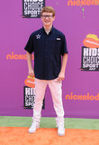Aidan Miner Photo - 13 July 2017 - Los Angeles California - Aidan Miner Nickelodeon Kids Choice Sports Awards 2017 held at the Pauley Pavilion in Los Angeles Photo Credit Birdie ThompsonAdMedia