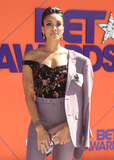 Annie  Ilonzeh Photo - 24 June 2018 - Los Angeles California - Annie Ilonzeh 2018 BET Awards held at the Microsoft Theater Photo Credit F SadouAdMedia
