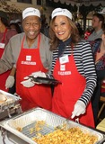 Anne Douglas Photo - 21 November 2012 - Los Angeles California - Billy Davis Marilyn McCoo Kirk And Anne Douglas Host 8th Annual Thanksgiving For Skid Row Homeless At Los Angele Mission Held At The Los Angeles Mission Photo Credit Kevan BrooksAdMedia