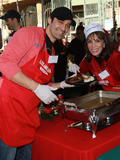 Gilles Marini Photo - 24 December 2010 - Los Angeles CA - Gille Marini and Kate Linder Christmas Eve For Homeless Served at Los Angeles Mission held At The Los Angeles Mission Photo Kevan BrooksAdMedia