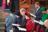 Elizabeth II Photo - 09032020 - Queen Elizabeth II Prince Harry Duke Of Sussex and Meghan Markle Duchess Of Sussex Prince Edward Earl Of Wessex and Sophie Countess Of Wessex Prince William Duke Of Cambridge and Kate Middleton Duchess of Cambridge Commonwealth Day 2020 Service at Westminster Abbey in London Photo Credit ALPRAdMedia
