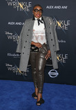 Aisha Hinds Photo - 26 February 2018 - Hollywood California - Aisha Hinds Disneys A Wrinkle In Time World Premiere held at El Capitan Theatre Photo Credit F SadouAdMedia