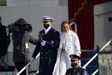 JENNIFER LOPEZ Photo - Jennifer Lopez arrives to perform prior to United States President Joe Biden taking the Oath of Office as the 46th President of the US at the US Capitol in Washington DC on Wednesday January 20 2021  Credit Chris Kleponis  CNPAdMedia