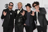 Andy Hurley Photo - 7 January 2015 - Los Angeles California - Andy Hurley Peter Wentz Patrick Stump Joe Trohman Fall Out Boy Peoples Choice Awards 2015 - Arrivals held at the Nokia Theatre LA Live Photo Credit Byron PurvisAdMedia