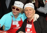 Anne Douglas Photo - 21 November 2012 - Los Angeles California - Anne Buydens Douglas Kirk Douglas Kirk And Anne Douglas Host 8th Annual Thanksgiving For Skid Row Homeless At Los Angele Mission Held At The Los Angeles Mission Photo Credit Kevan BrooksAdMedia