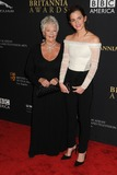 Judi Dench Photo - 30 October 2014 - Beverly Hills California - Judi Dench Emma Watson BAFTA Britannia Awards 2014 held at the Beverly Hilton Hotel Photo Credit Byron PurvisAdMedia