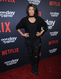 Andrea Navedo Photo - 24 January 2018 - Hollywood California - Andrea Navedo Netflixs One Day At A Time Season 2 Premiere Screening held at Arclight Hollywood Photo Credit Birdie ThompsonAdMedia