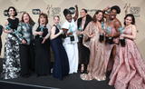 Beth Fowler Photo - 29 January 2017 - Los Angeles California - Danielle Brooks Selenis Leyva Adrienne C Moore Yael Stone Madeline Brewer Annie Golden Emma Myles Lin Tucci Beth Fowler 23rd Annual Screen Actors Guild Awards held at The Shrine Expo Hall Photo Credit F SadouAdMedia