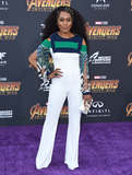 Angela Bassett Photo - 23 April 2018 -  Hollywood California - Angela Bassett Disney and Marvels Avengers Infinity War Los Angeles Premiere held at Dolby Theater Photo Credit Birdie ThompsonAdMedia