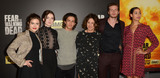 Aramis Photo - 29 March 2016 - Los Angeles California - Ally Ioannides Sarah Bolger Aramis Knight Orla Brady Oliver Stark Madeleine Mantock AMCs Fear The Walking Dead Season 2 Premiere held at Cinemark Playa Vista Photo Credit Birdie ThompsonAdMedia