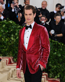 Andrew Garfield Photo - 07 May 2018 - New York New York - Andrew Garfield 2018 Metropolitan Museum of Art Costume Institute Gala Heavenly Bodies Fashion and the Catholic Imagination Photo Credit Christopher SmithAdMedia