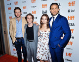 Wale Photo - 12 September 2019 - Toronto Ontario Canada - Fran Kranz Max Winkler Jessica Barden Charlie Hunnam 2019 Toronto International Film Festival - Jungleland Photo Call held at Princess of Wales Theatre Photo Credit Brent PerniacAdMedia