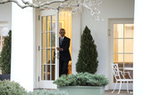 President Barack Obama Photo - President Barack Obama is seen in the Oval Office for the last time as President in Washington DC on January 20 2017 Later today President-Elect Donald Trump will be sworn-in as the 45th President Photo Credit Kevin DietschCNPAdMedia