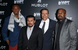Inny Clemons Photo - 17 December 2014 - Nashville TN -  J August Richards Jacob Vargas Yancey Arias Inny Clemons  Hublot and World Poker Touch announce partnership and unveil the new limited-edition Hublot Poker Bang Timepiece at Hyde Bellagio  Photo Credit MJTAdMedia